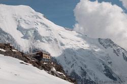 Приют Тет Рус, 3167 м.