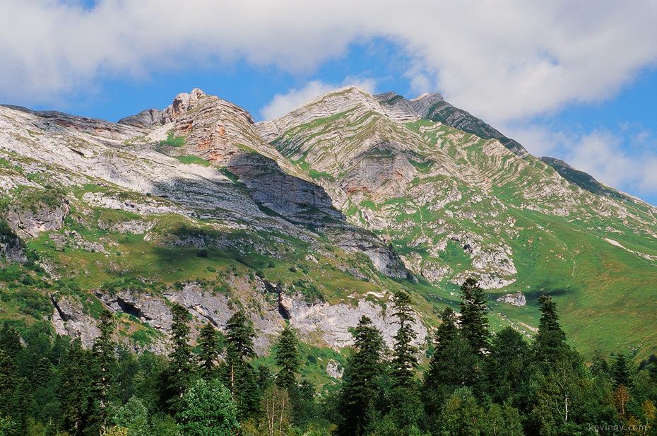 Красные скалы на Фиште