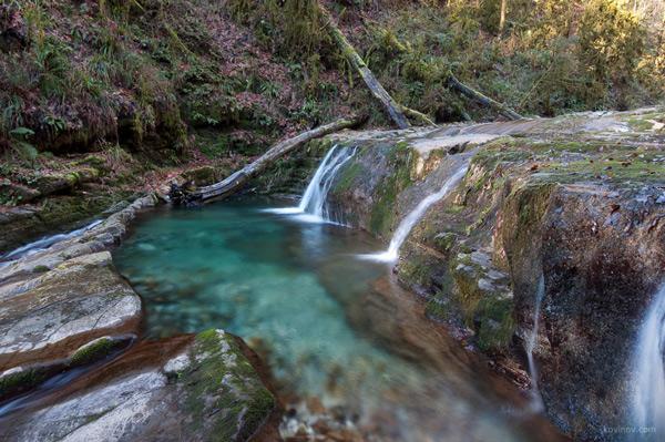 Водопады Сванидзе