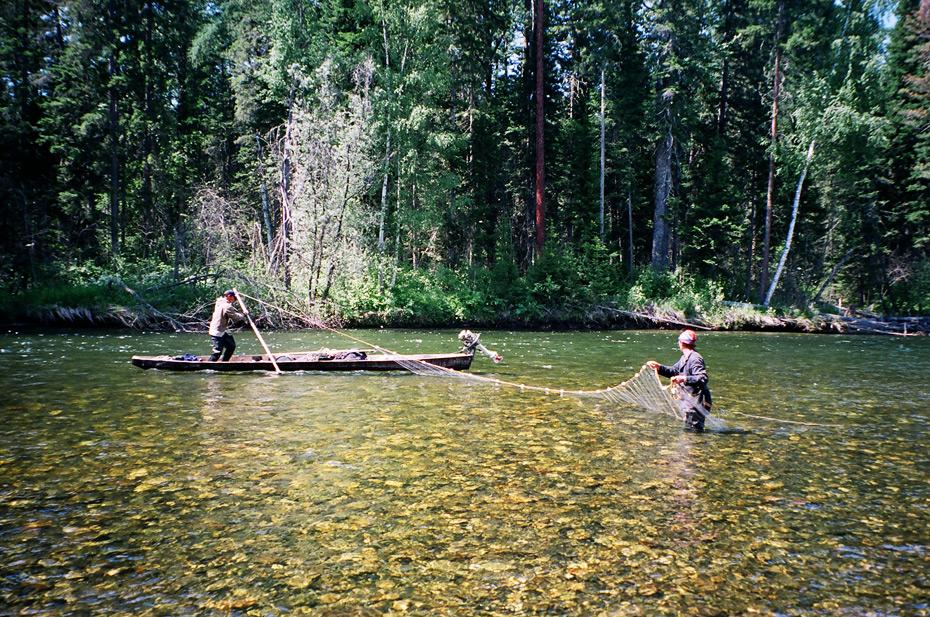 Рыбалка на реке Кирей