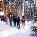Лыжный поход по реке Кан