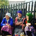 Поездка на Родину, деревня Уйгат